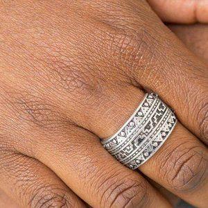 Texture Tantrum Silver Ring